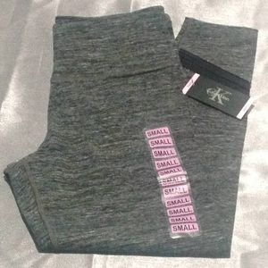 NWT CALVIN KLEIN PERFORMANCE CROPPED LEGGINGS